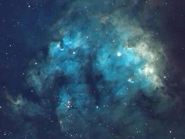 NGC7822 in SHO
