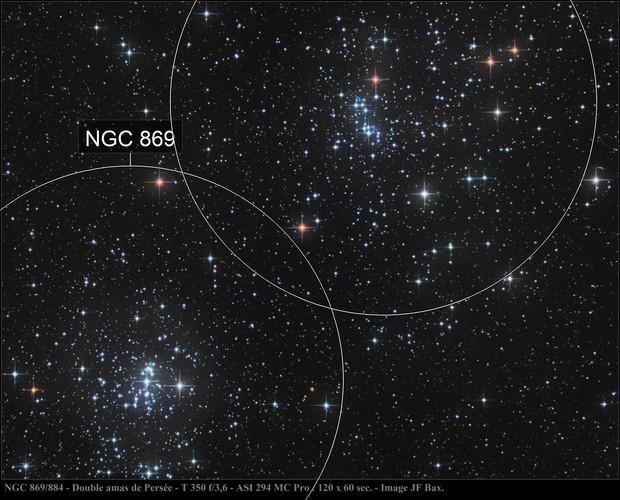 Reloaded NGC 864 / 889 -  Double amas de Persée
