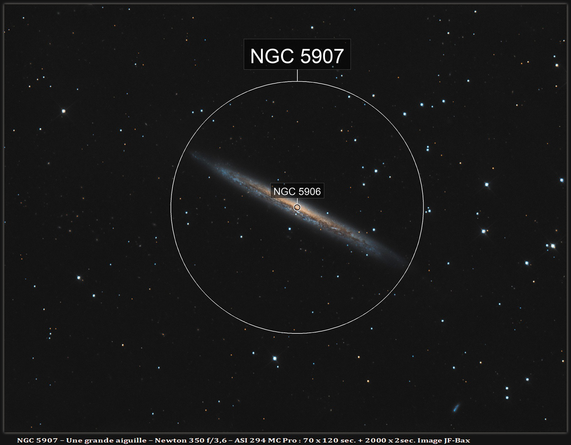 NGC 5907 reprocessed from scratch