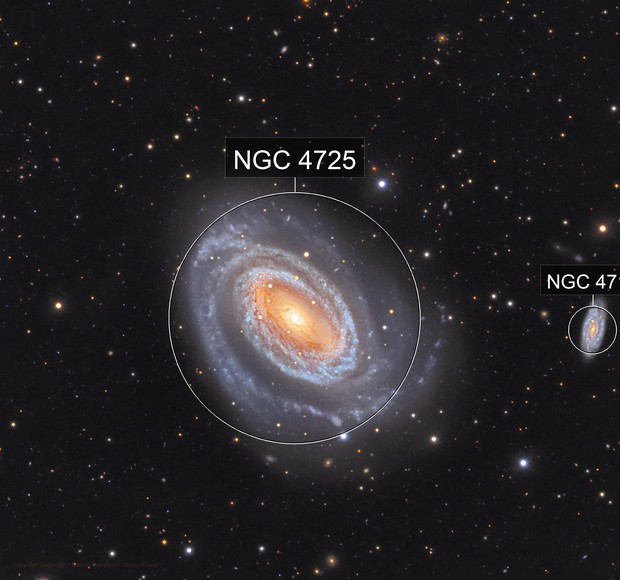 NGC 4725 _ result  of Collaboration