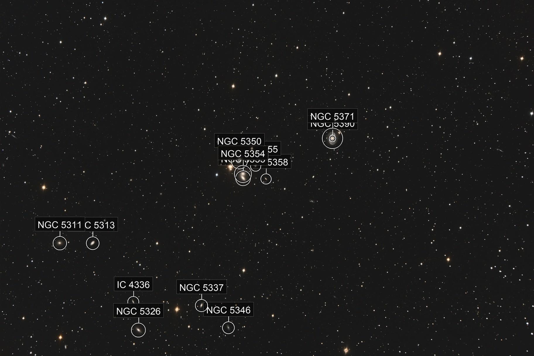 HCG68-Lots of Galaxies