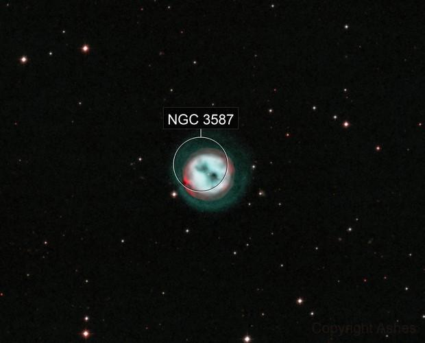 M97 HOO - The Owl Nebula with halo
