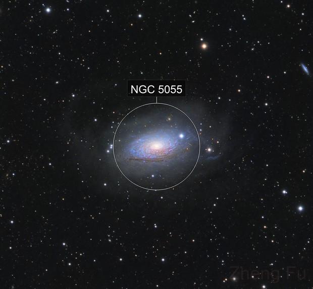 M63 Sunflower Galaxy - LRGB