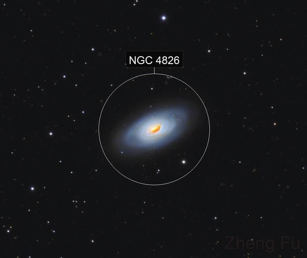 M64 Black Eye Galaxy - LRGB