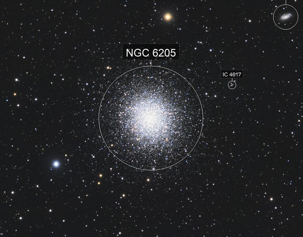 M 13 Great Globular Cluster in Hercules - LRGB