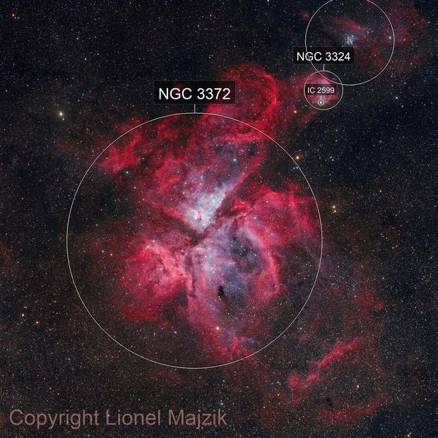 The Carina Nebula and the Nova Carinae 2018