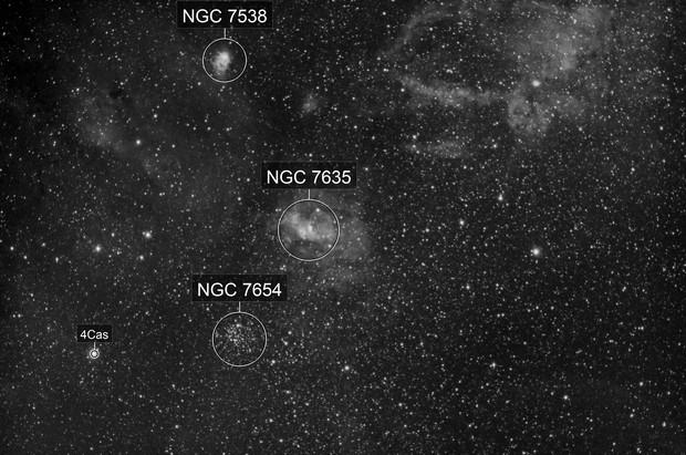 Bubble Nebula Region in Ha