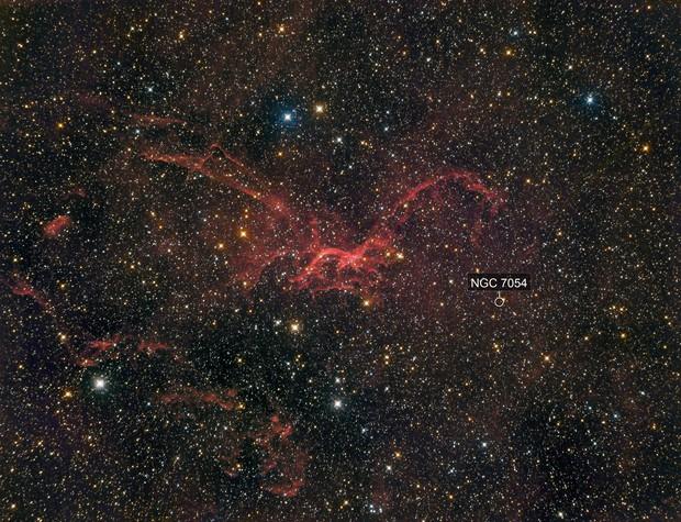 SH2-114 - The Flying Dragon Nebula