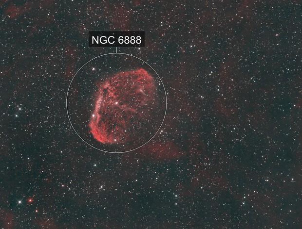 NGC 6888 Narrow Band