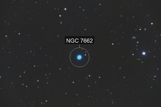 Blue Snowball Nebula