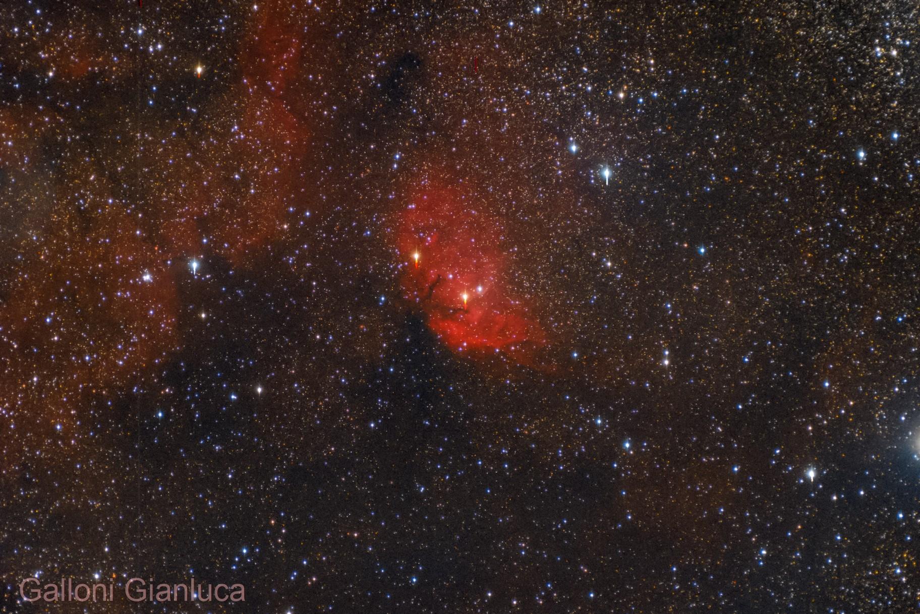Sh2-101, Tulip Nebula