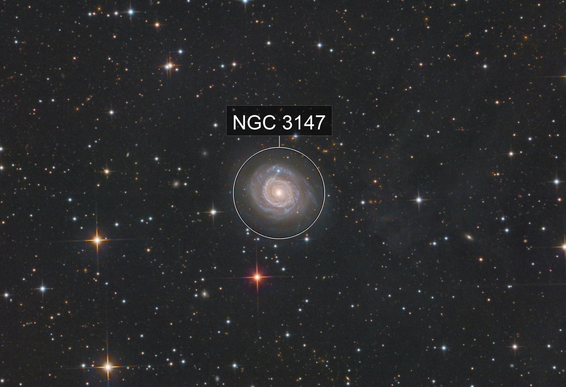 NGC 3147 plus IFN