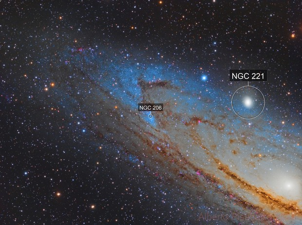 NGC 206 and Part of M31