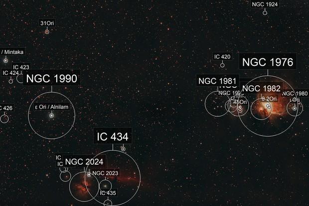 Nébuleuses d'Orion