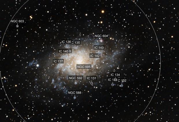 M33 La galaxie du Triangle