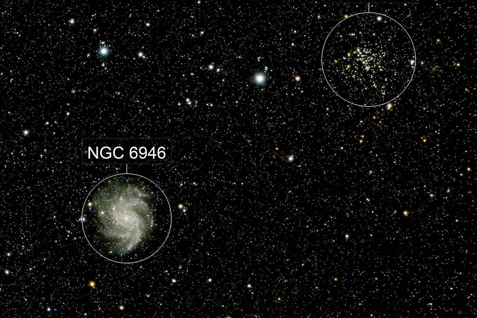 NGC 6946 et NGC 6939