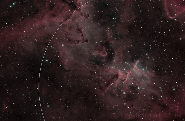 IC 1805 / Melotte 15 (Bi-Color)