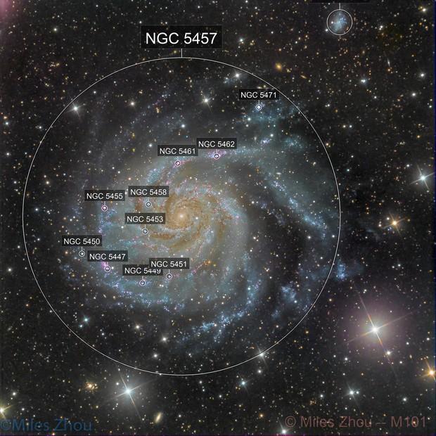 Pinwheel Galaxy (Messier 101)