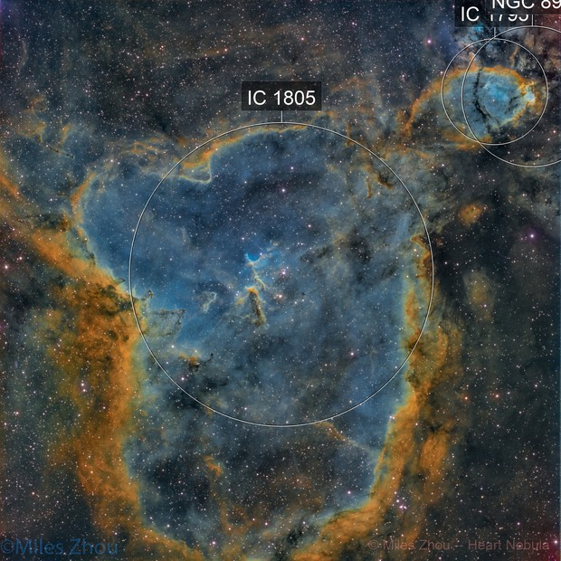 Heart Nebula (IC-1805) - RH305