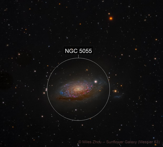 Sunflower Galaxy -- Messier 63