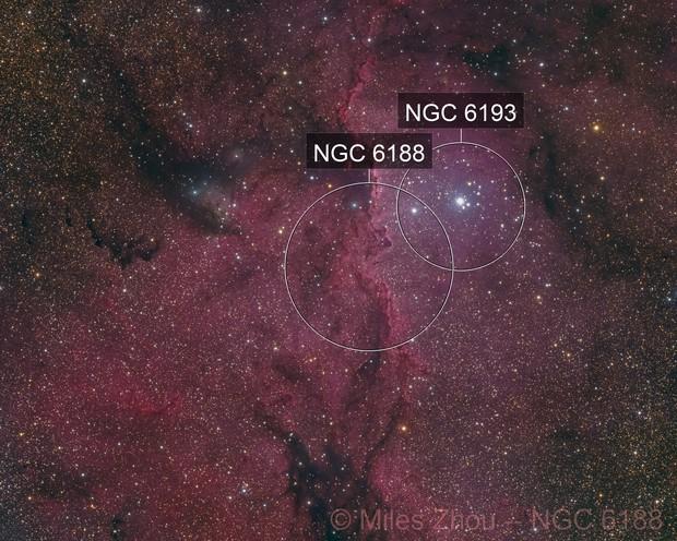 NGC 6188 (LRGB)