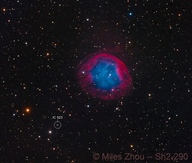 Planetary Nebula Sh2-290