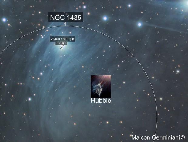 Merope Nebula IC 349
