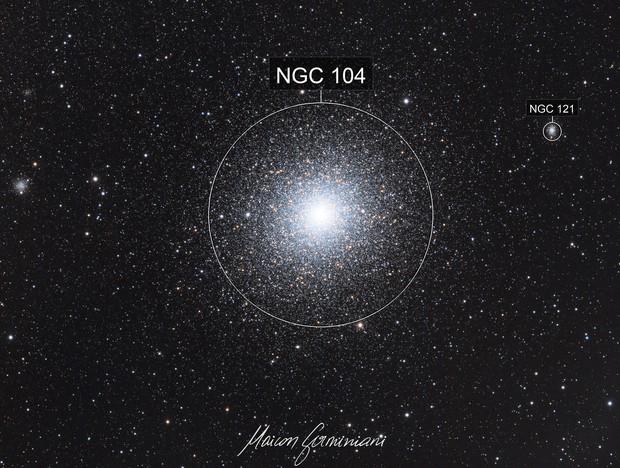 NGC 104, 47TUC, Tucanae, NGC 121