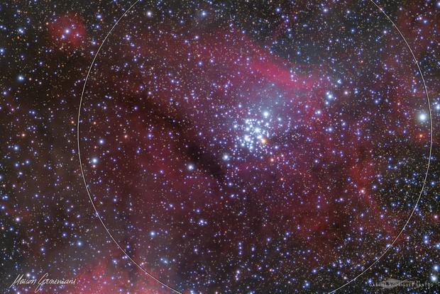 NGC 3324 GEM CLUSTER TEAMWORK With Gabriel Rodrigues Santos