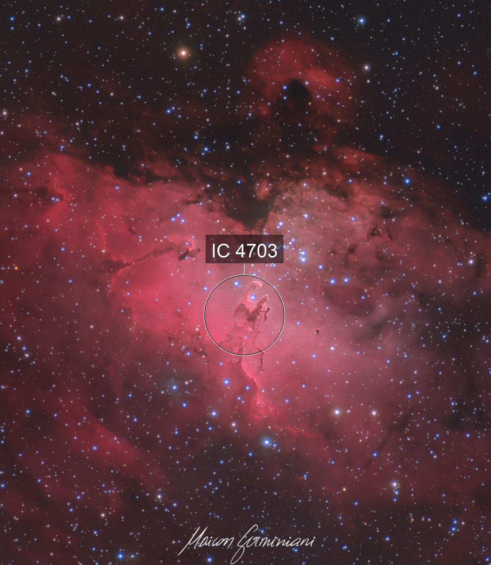 Queen Nebula Messier 16 Eagle Nebula
