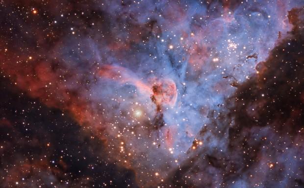 Eta Carinae Humunculos First Light ZWO ASI 178MM-COOL