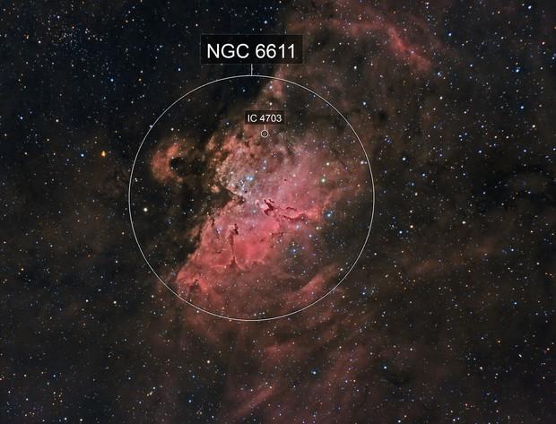 Messier 16 Eagle Nebula Queen Nebula