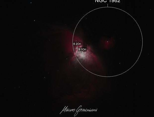 Messier 42 Core Trapezium