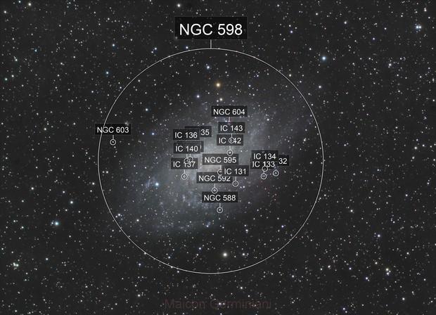 Messier 33 Galáxia do Triângulo