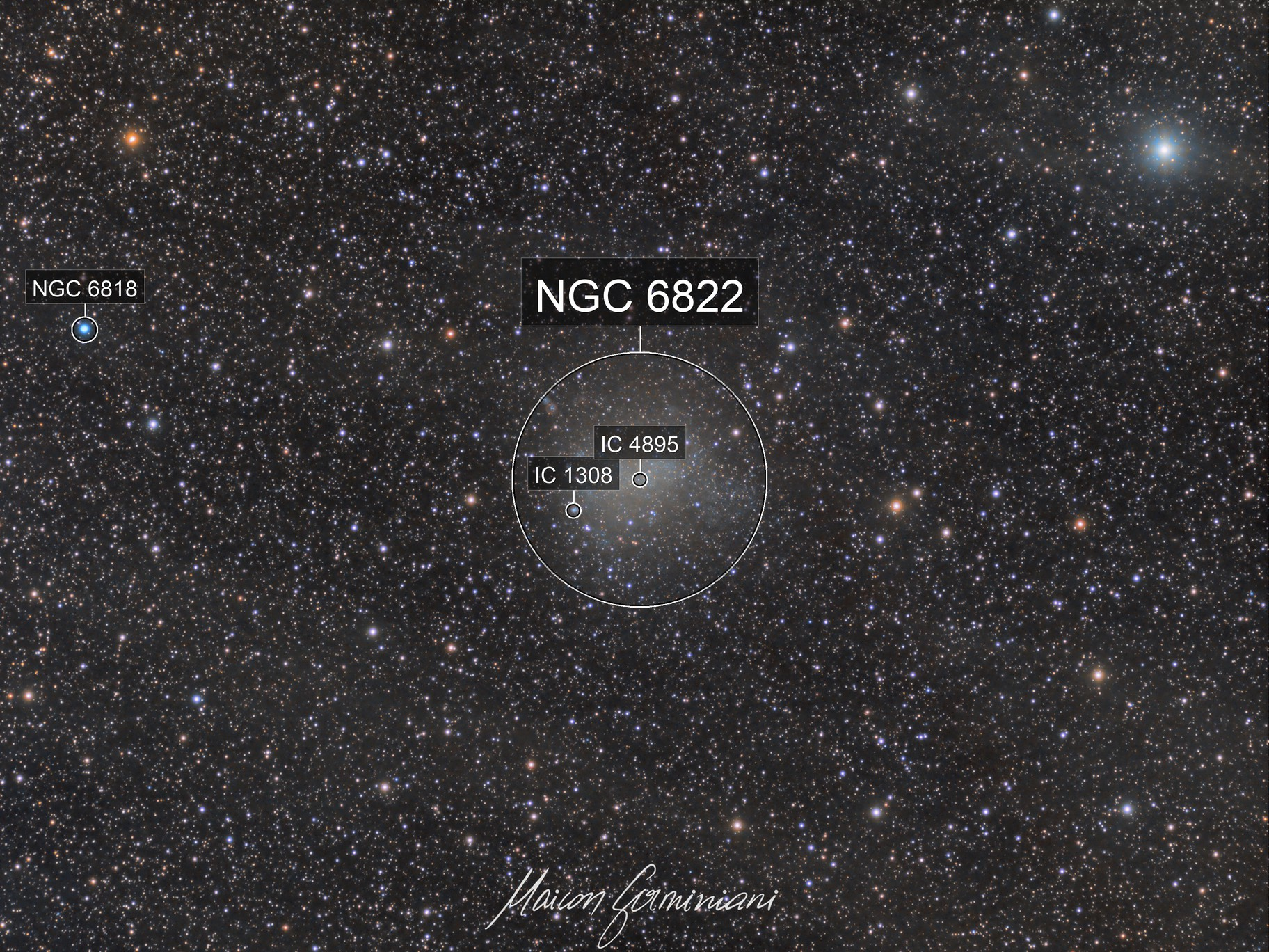 Barnard´s Galaxy NGC 6822