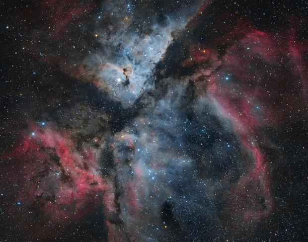 Eta Carinae - Martin Pugh Data
