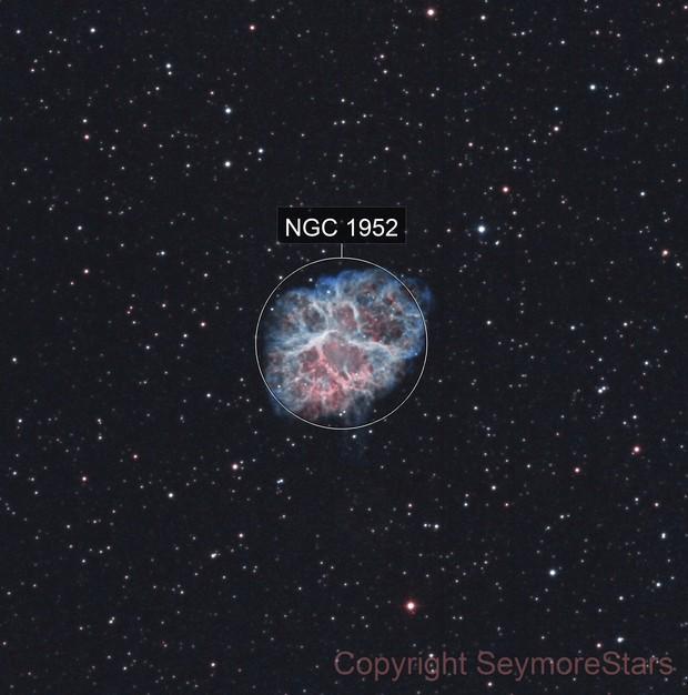 M1 The Crab Nebula