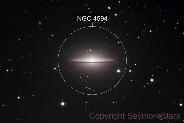 Messier-104 the Sombrero Galaxy