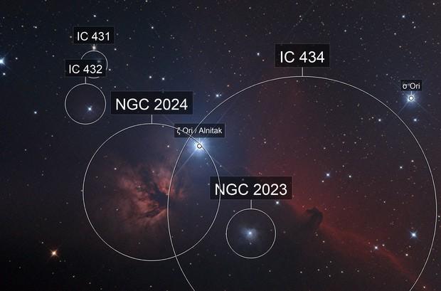 IC 434 / NGC 2024