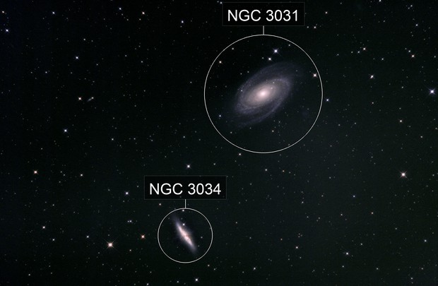 M81 & M82 with DSLR