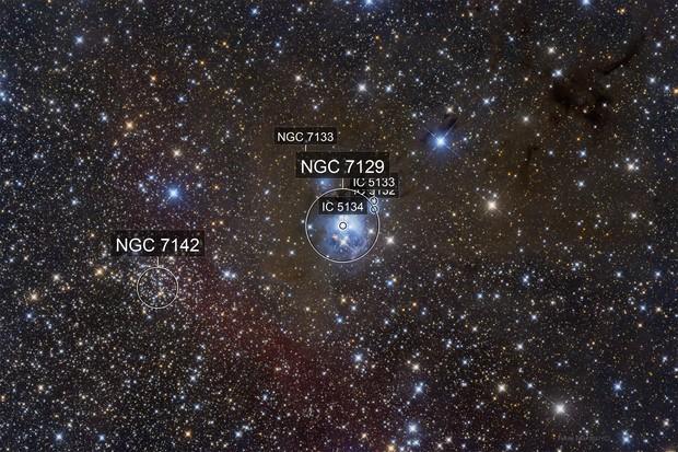 NGC7129 - NGC7142