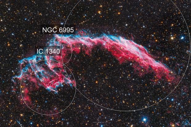 NGC 6992 Veil Nebula - The Head of the Dragon