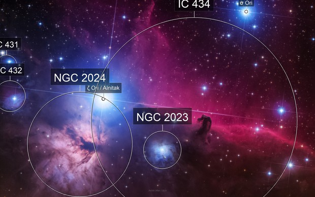 Horsehead nebula - Barnard 33