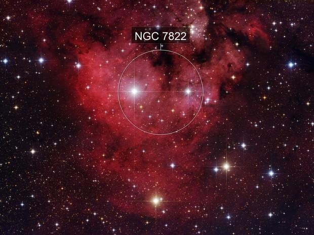 NGC7822 THE DEVILS HEAD