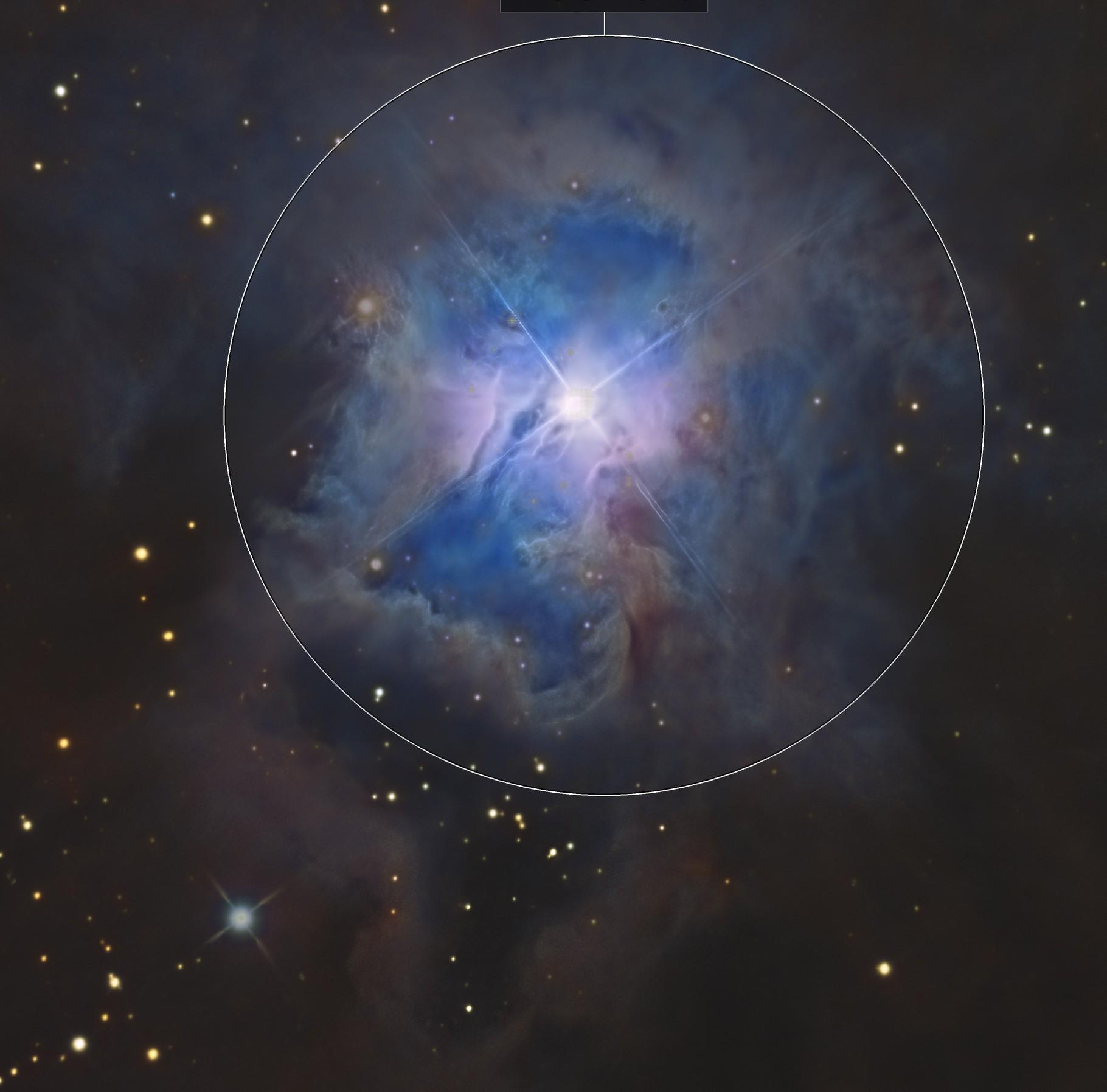 The Core of the Iris Nebula