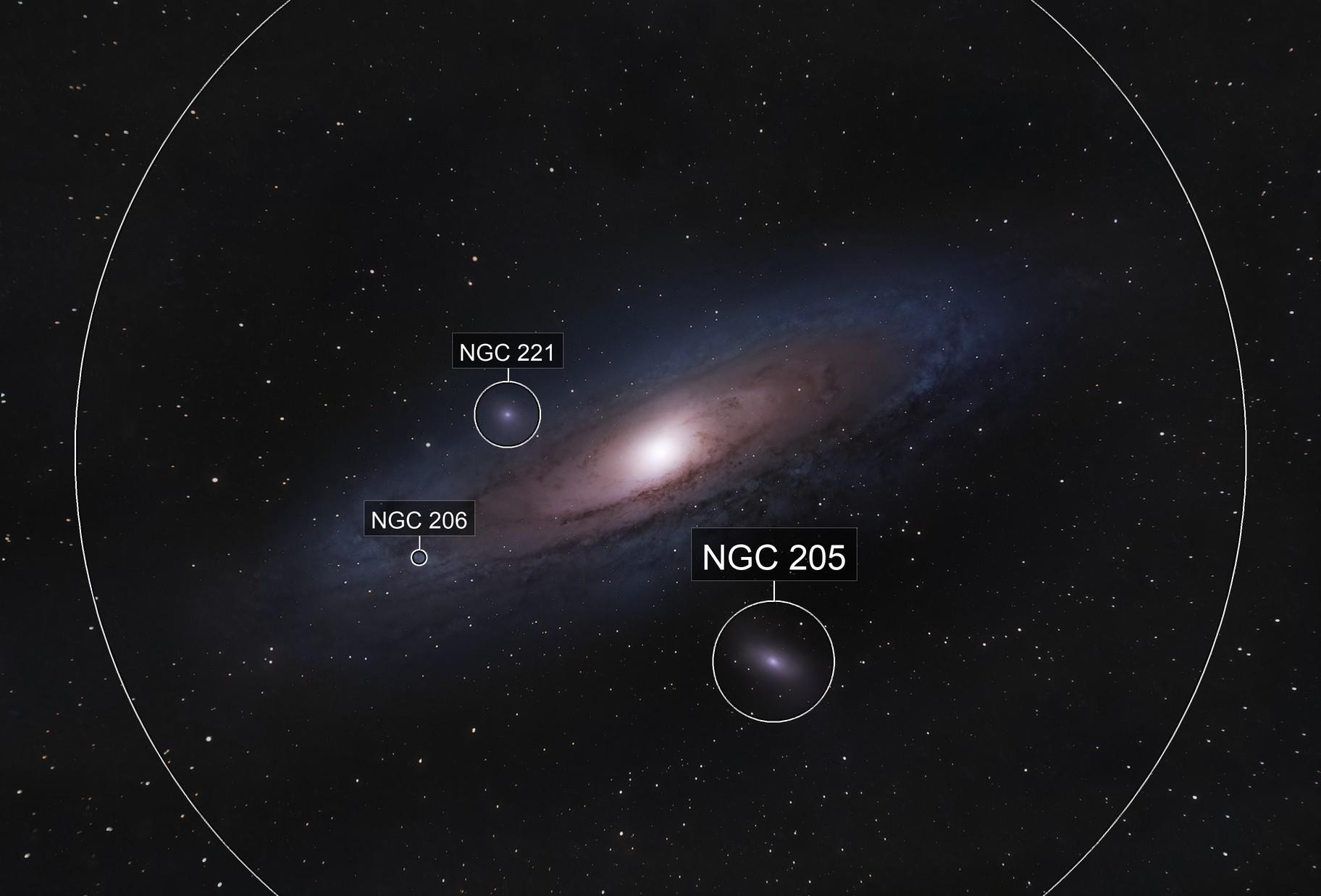Andromeda Galaxy OSC