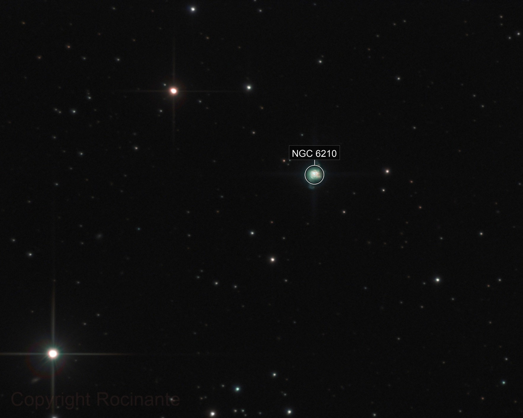 NGC 6210 - The Turtle