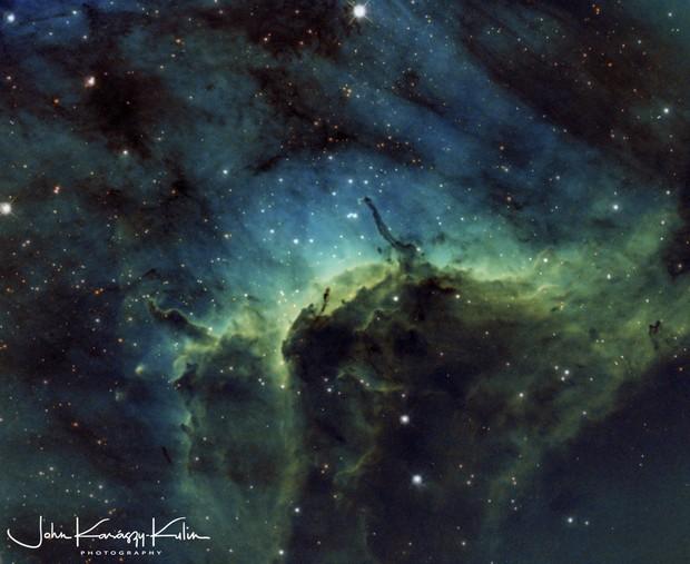 The Pelican Nebula IC5070/IC5067