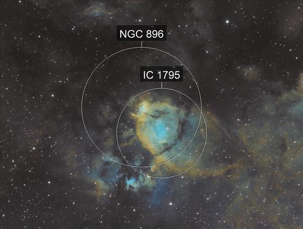IC 1795 (Nébuleuse du poisson)