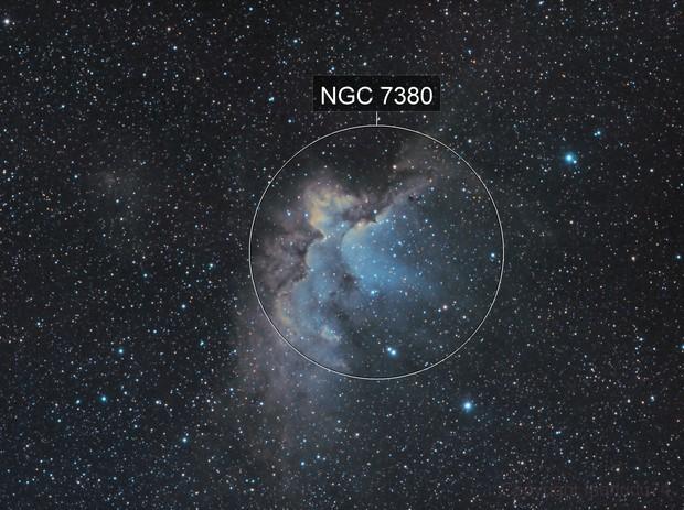 NGC 7380, ?ébuleuse du Sorcier